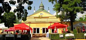Entrén in till Café Meierei @Photo owner www.meierei.at