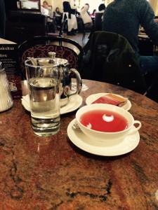 Tee på Café Central