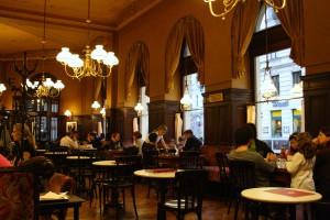 Café Sperl interior
