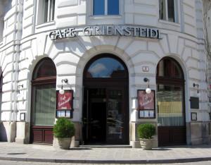 Café Griensteidl Ingång