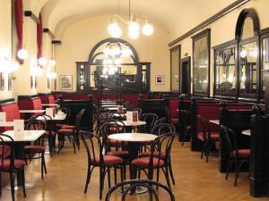 Café Greinsteidl Interiört