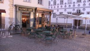 Kleines Café exteriört