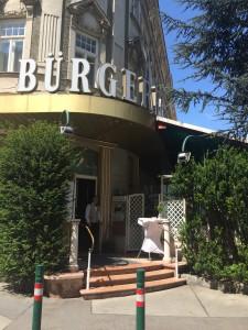 Café Restaurang Bürgerhof Entré