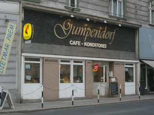 Café Konditorei Gumpendorf Entré