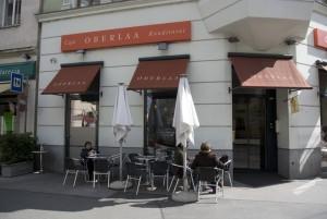 Café Kurkonditorei Oberlaa Entré. Bildägare @http://www.credoinvest.at/