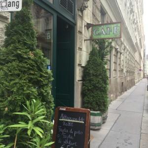 Café Merkur Entré