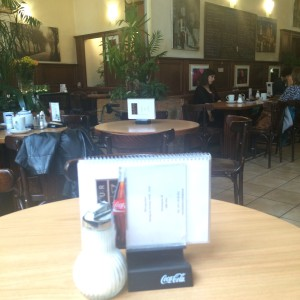 Café Merkur Interiör