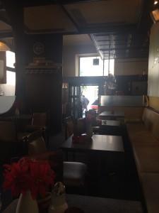 Café Schubert Entré vy innifrån