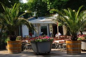 Café Restaurant Mayerei Exteriör bild. Bildägare @Café-Restaurang Mauerei