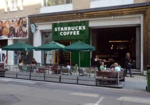 Starbucks Coffe Neugaugasse Entré
