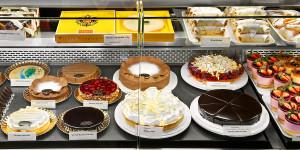 Café Kurkonditorei Oberlaa  Butiksdiskdel. Bildägare @http://www.credoinvest.at
