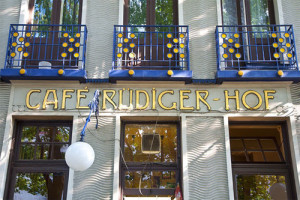 Café Rüdigerhof Entré