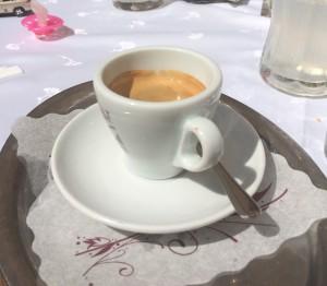 Schallaburg Slottsrestaurang espresso