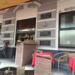 Café Strozzi Väggmenyn